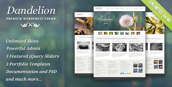 Dandelion - ссылка на демо версию