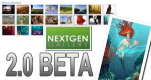 NextGEN Gallery 2.0 Beta - обзор