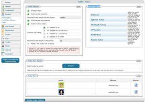 Simple:Press Forum - настройка аватаров