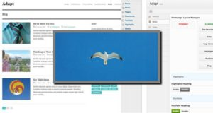 Adapt 2.0 - бесплатная тема от WPexplorer