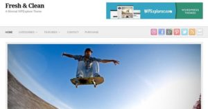 Бесплатная тема Fresh & Clean от WPExplorer