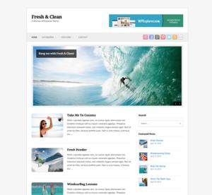 fresh-clean-wordpress-theme